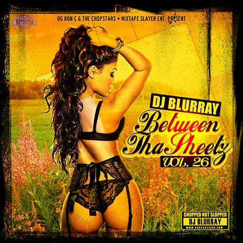 DJ Blurray-Between Tha Sheetz 26 Mixtape