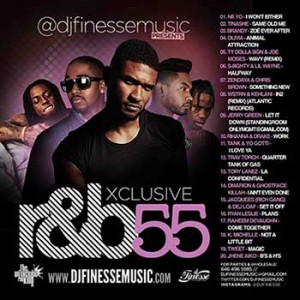 DJ Finesse-Xclusive R&B 55 Mixtape