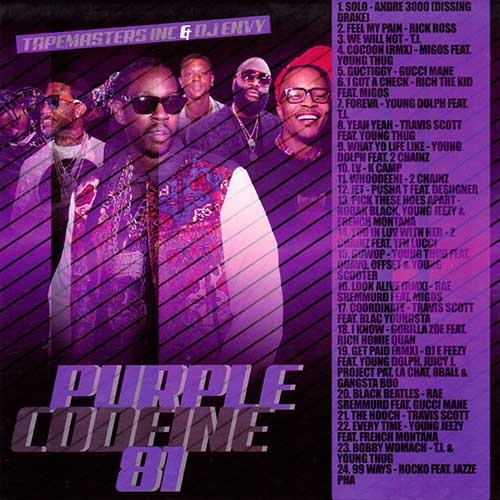 DJ Envy and Tapemasters Inc-Purple Codeine 81 Free MP3 Download Sites