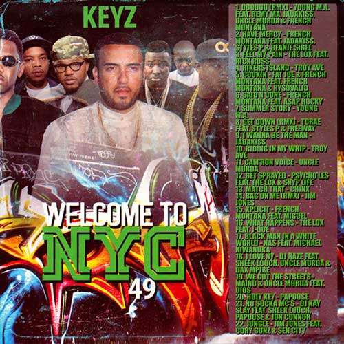 DJ Keyz-Welcome To NYC 49 Playlist