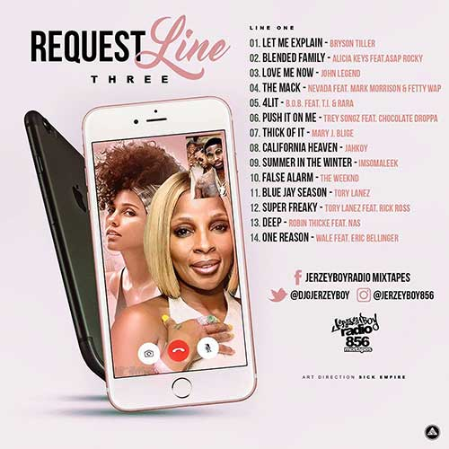 DJ Jerzeyboy-Request Line 3 Playlist