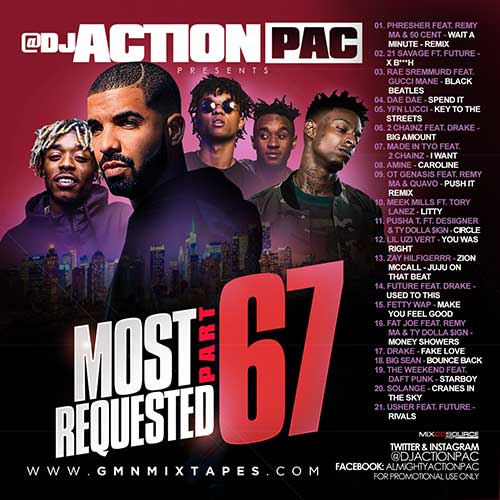 Action Pac-Most Requested 67 Playlist