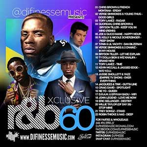 DJ FInesse-Xclusive R&B 60 New Songs