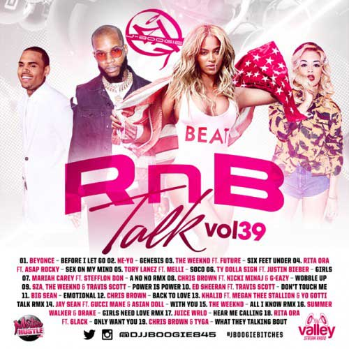 DJ J-Boogie-RnB Talk 39 Music