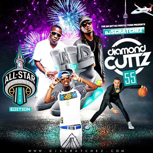 DJ Scratchez-Diamond Cuttz 55 NBA All-Star Weekend Edition Free Music Download