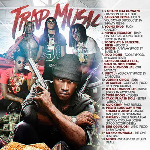 Trap Music February 2K16 Edition Music Download