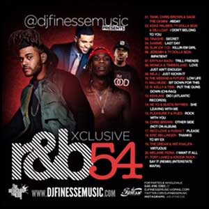 DJ Finesse-Xclusive R&B 54 Product