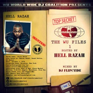 DJ Flipcyide-The Wu Files Hosted By Hell Razah