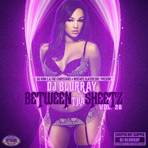 DJ Blurray-Between Tha Sheetz 28 Playlist