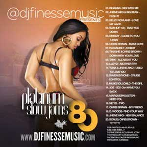 DJ Finesse-Platinum Slow Jams 80 Song
