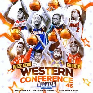 Self Made Radio, DJ Wizz Kidd, and DJ Goonie-The Western Conference 44 Music Catalog