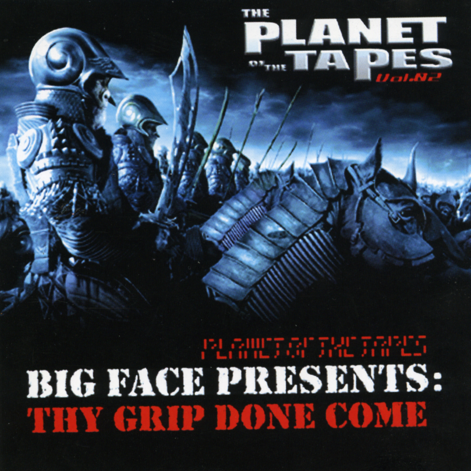 DJ Rectangle - Planet of the Tapes Vol 2 Thy Grip Done Come