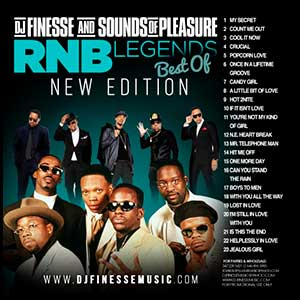 RnB Legends Best Of New Edition Mixtape Graphics