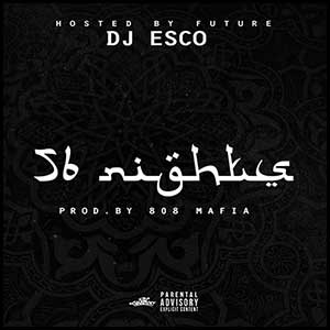 56 Nights mixtape graphics