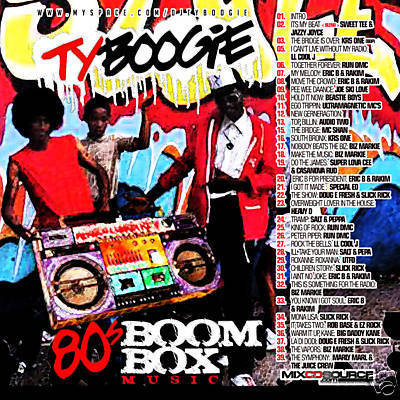 Dj ty boogie 80s boom box music for 80s house music