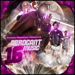 Arrogant Music 16 Mixtape Graphics
