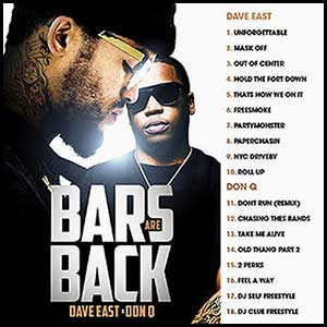 Bars Are Back Mixtape Graphics