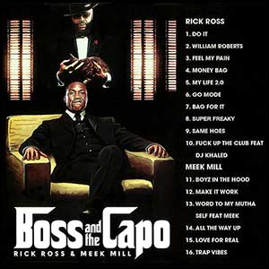 Boss and The Capo Mixtape Graphics