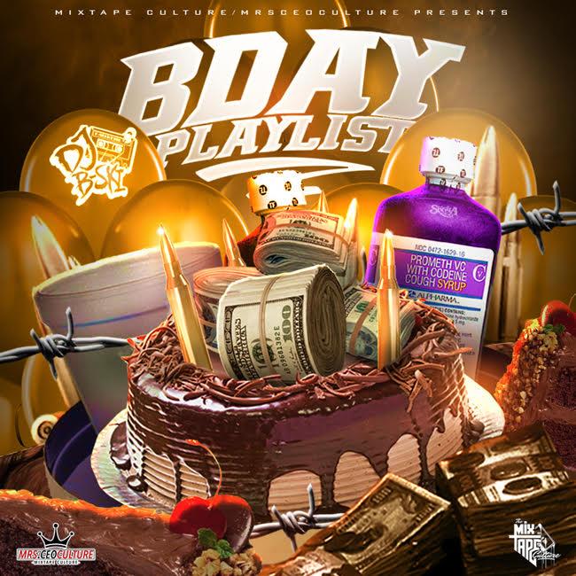 DJ B-Ski - DJ B-Skis Birthday Playlist | Buymixtapes com