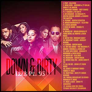 Down and Dirty RnB 95 Mixtape Graphics