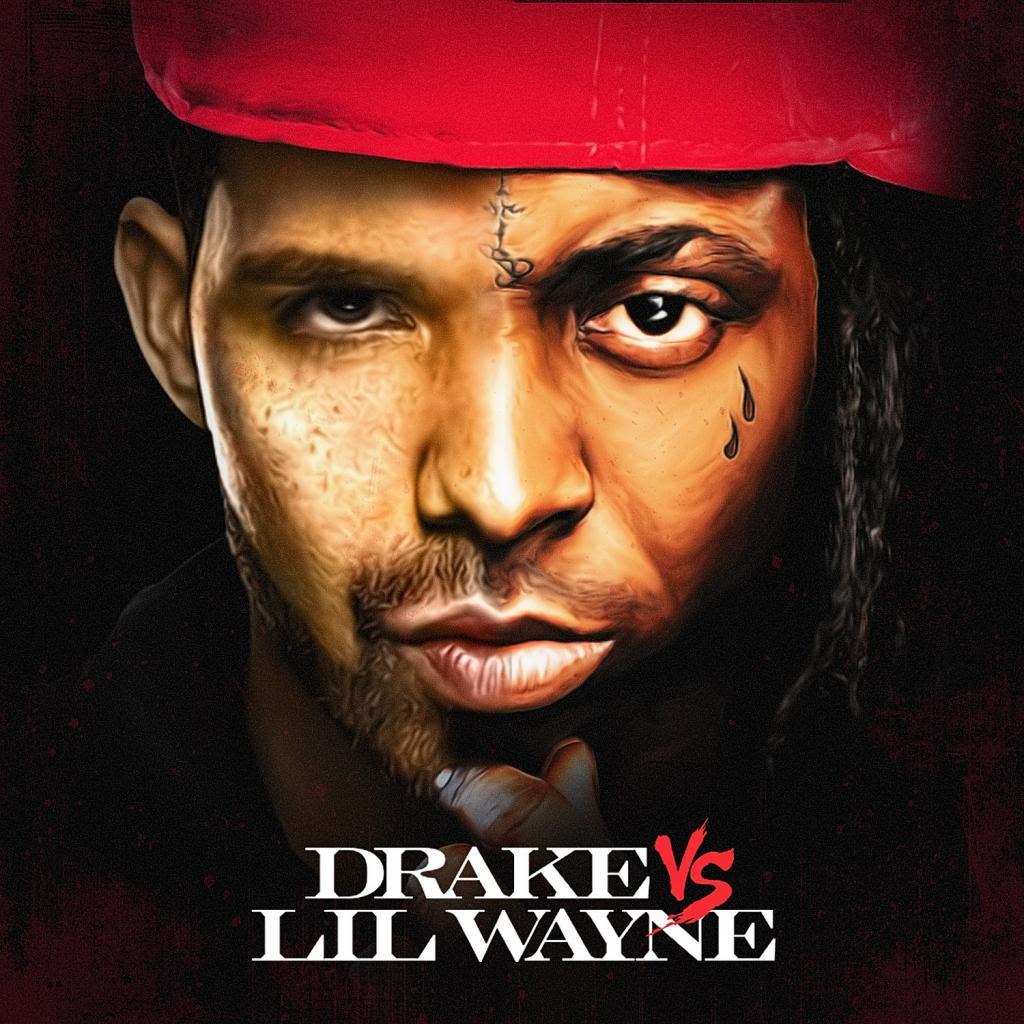 Drake and Lil Wayne - Drake Vs Lil Wayne Buymixtapes.com