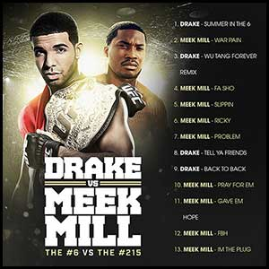 Drake VS Meek Mill The 6 VS The 215