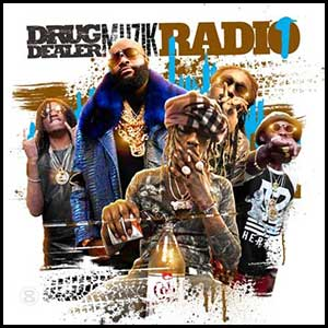 Drug Dealer Muzik Radio mixtape graphics