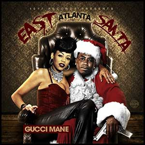 East Atlanta Santa mixtape graphics