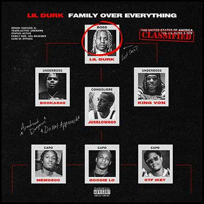Family Over Everything Mixtape Graphics