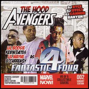 The Hood Avengers Fantastic Four