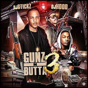 Gunz and Butta 3 mixtape graphics