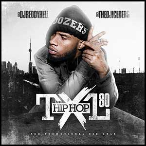 Hip Hop TXL Volume 80 Mixtape Graphics