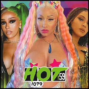Hot 107.9 Volume 59 Mixtape Graphics