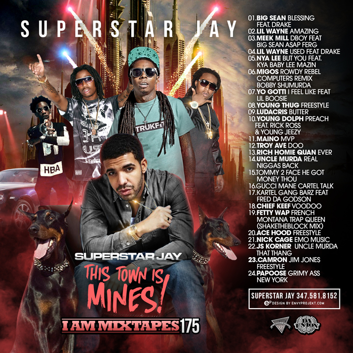 Superstar Jay - I Am Mixtapes 175 | Buymixtapes com