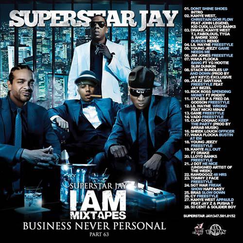 Superstar Jay - I Am Mixtapes 63 | Buymixtapes com
