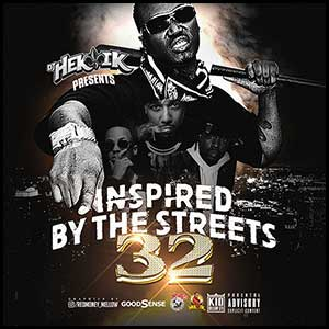 Inspired By The Streets 32 Mixtape Graphics