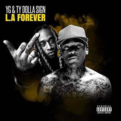 L.A. Forever Mixtape Graphics