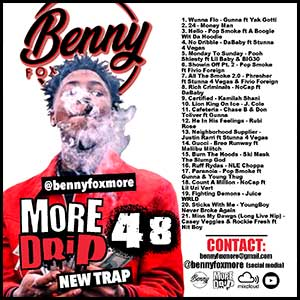 More Drip 48 New Trap Mixtape Graphics