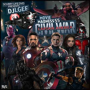 Movie Madness 55 Capt America Civil War
