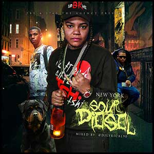 New York Sour Diesel Mixtape Graphics