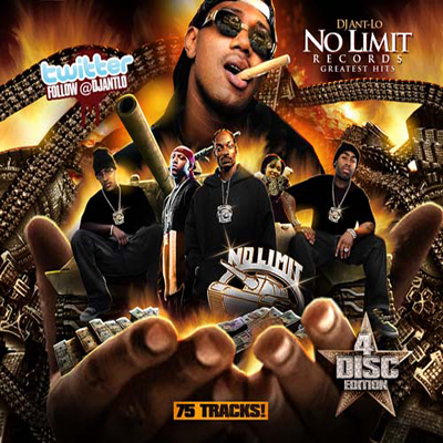 DJ Ant Lo - No Limit Records Greatest Hits 4CD Edt ...