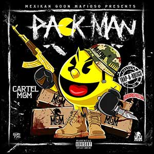 Pack Man mixtape graphics