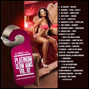 Platinum Slow Jams 82 Mixtape Graphics