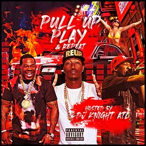 Pull Up Play and Repeat Mixtape Graphics