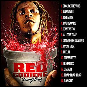 Red Codeine Mixtape Graphics