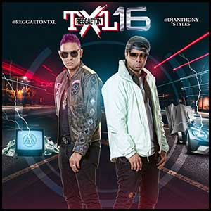 Reggaeton TXL Volume 16 Mixtape Graphics
