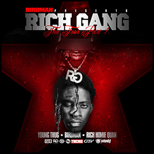 Rich Gang The Tour Part 1 mixtape graphics