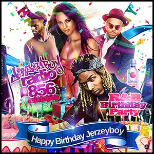 RnB Birthday Party Mixtape Graphics