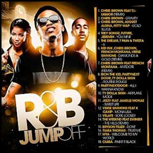 RnB Jumpoff Gold Edition mixtape graphics