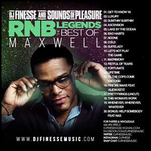 RnB Legends The Best Of Maxwell Mixtape Graphics